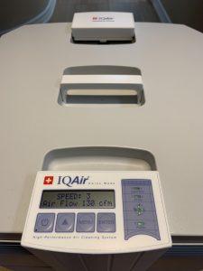 IQ Air medical grade air filtration